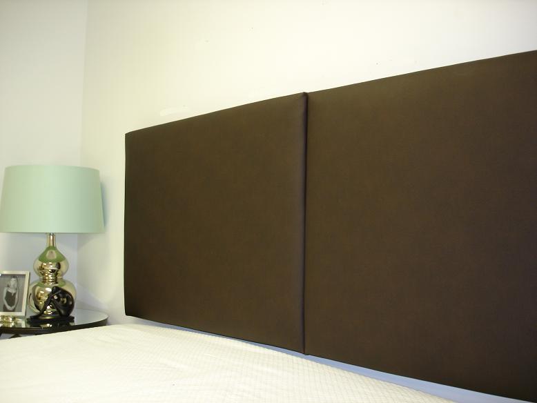 upholstered wall panels wall mounted king headboard two robert panels wall huggers designer chic upholstered headboards