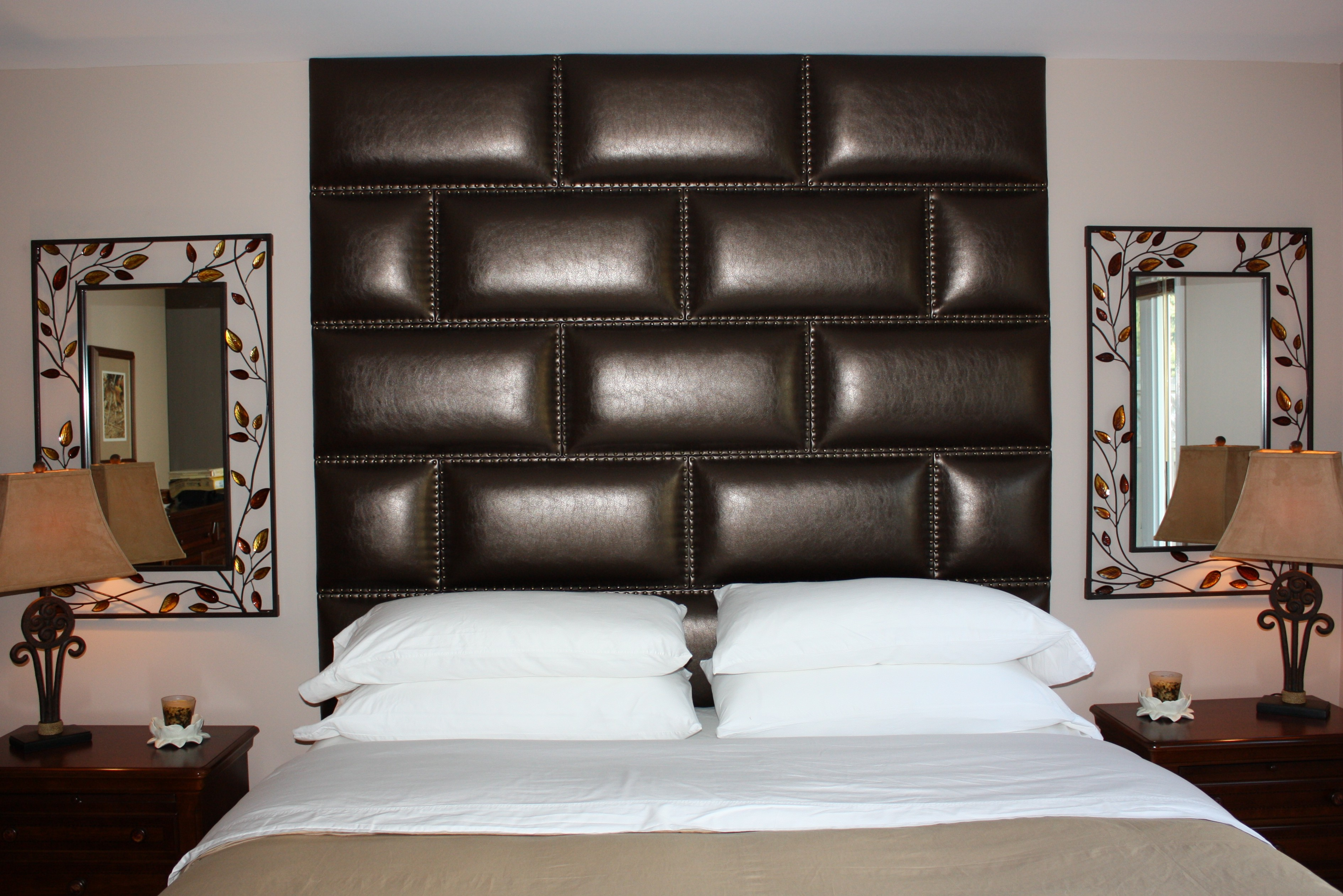 Wall Huggers Designer Chic Upholstered Wall Panels