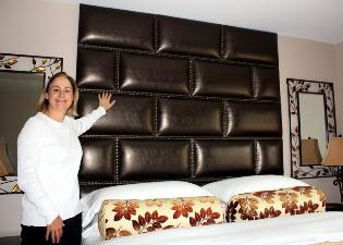 Custom King Headboard Panels